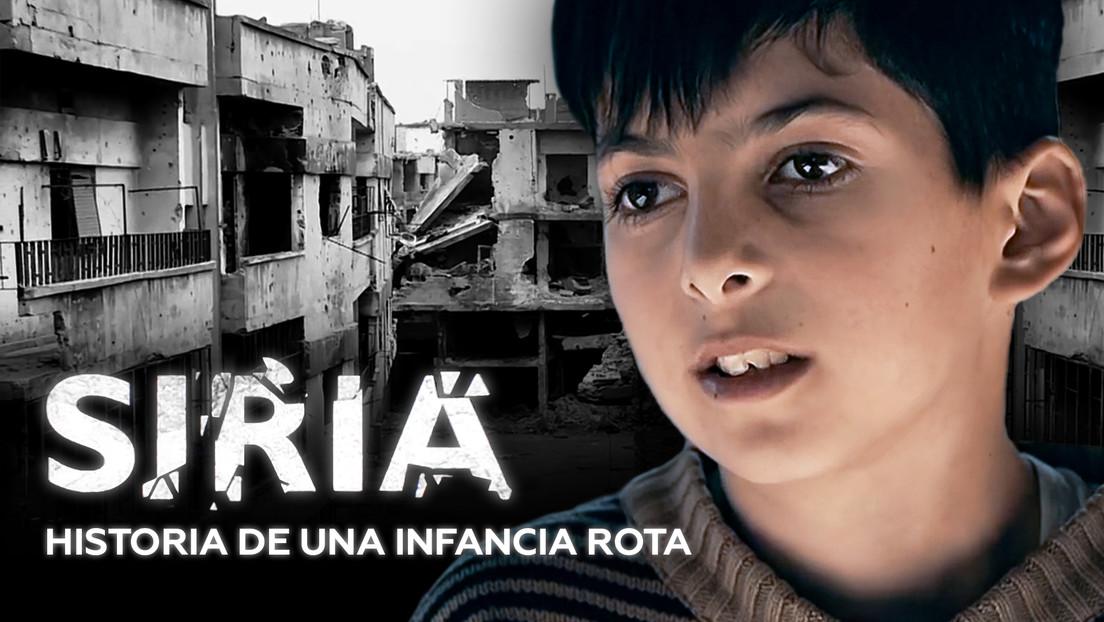 Siria: Historia de una infancia rota