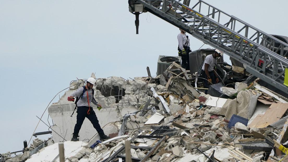 Biden califica de emergencia nacional el desplome de un edificio en Florida