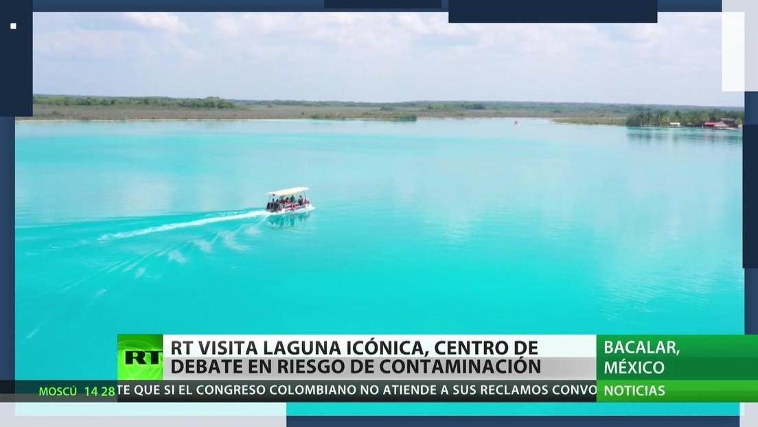 RT visita la famosa laguna de los siete colores en México, amenazada por la contaminación