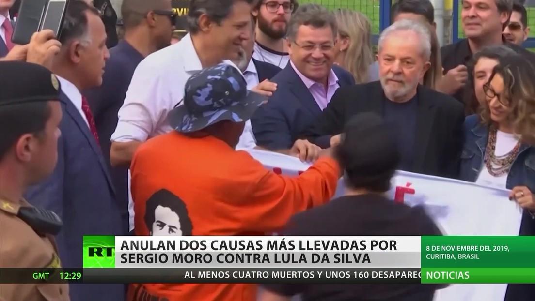 Brasil: Anulan otras dos causas contra Lula da Silva llevadas por el exjuez Sergio Moro