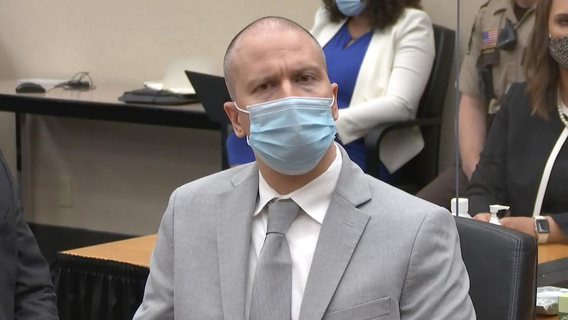 El expolicía Derek Chauvin es sentenciado a 22,5 años de prisión por el asesinato de George Floyd