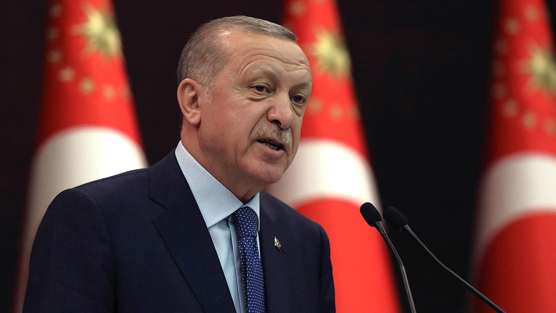 """""""Una nueva página en la historia"""": Erdogan pone la primera piedra del canal de Estambul"""