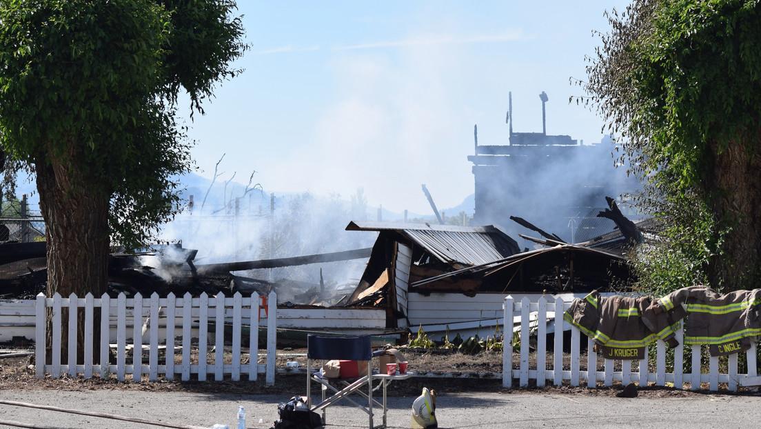 Una serie de incendios destruyen varias iglesias católicas en comunidades indígenas en Canadá