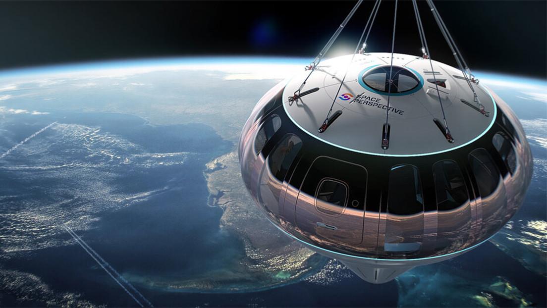 """""""No olvides tu cámara"""": una empresa ofrece vuelos espaciales más baratos y seguros """"en globo"""" a partir de 2024"""
