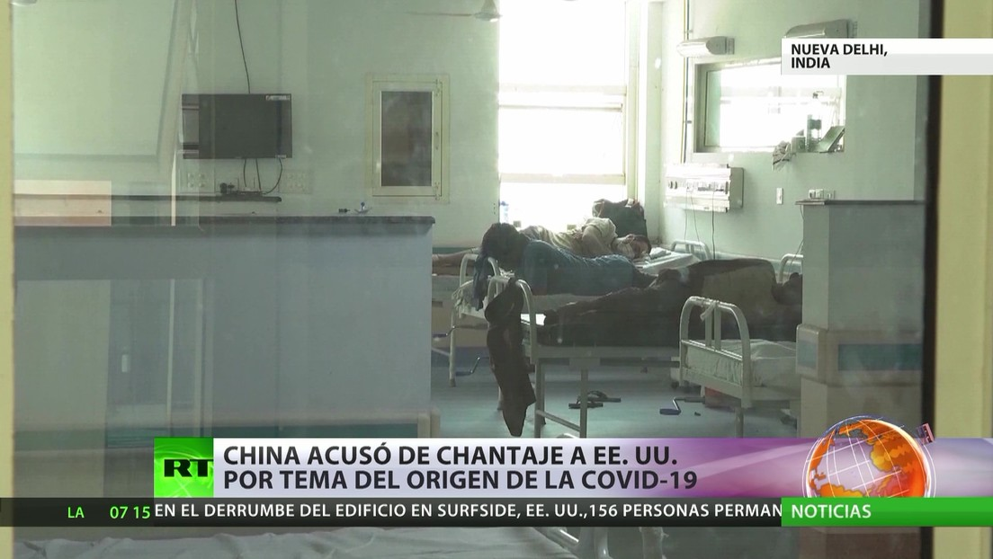 China acusó de chantaje a EE.UU. en relación al origen del covid-19