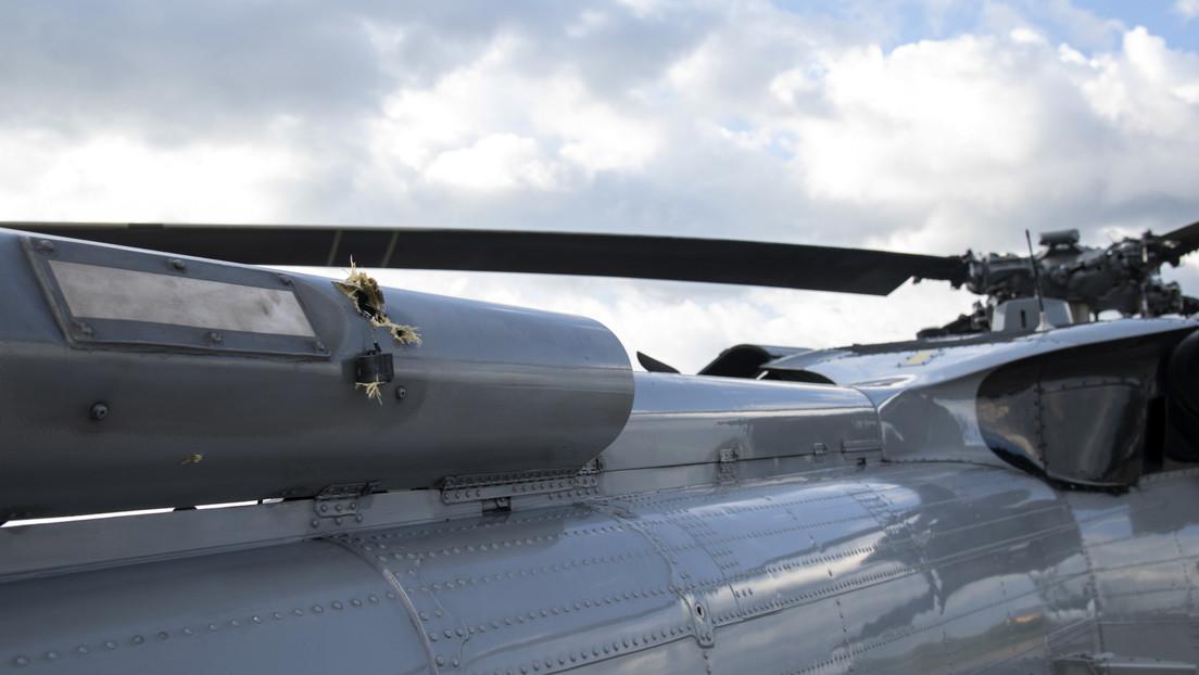 Autoridades de Colombia revelan el retrato hablado de los presuntos atacantes del helicóptero de Iván Duque