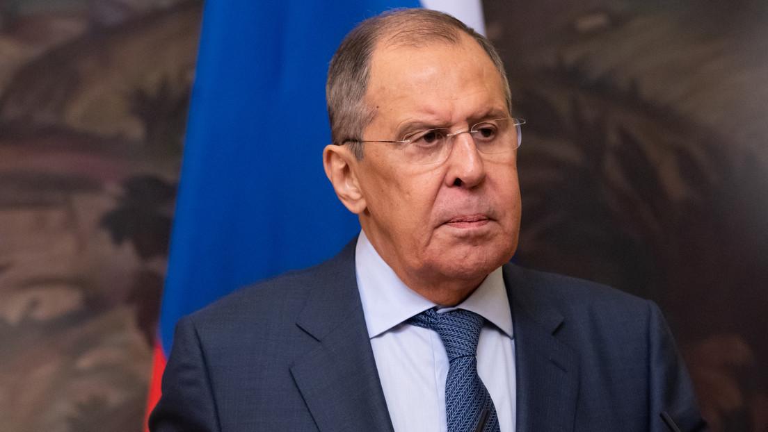 """Lavrov: """"Occidente impone el totalitarismo en el mundo y adopta una postura imperial y neocolonial hacia otros países"""""""