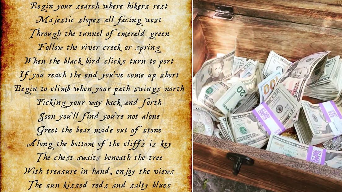 Una pareja estadounidense entierra un cofre con 10.000 dólares y organiza una 'búsqueda del tesoro'