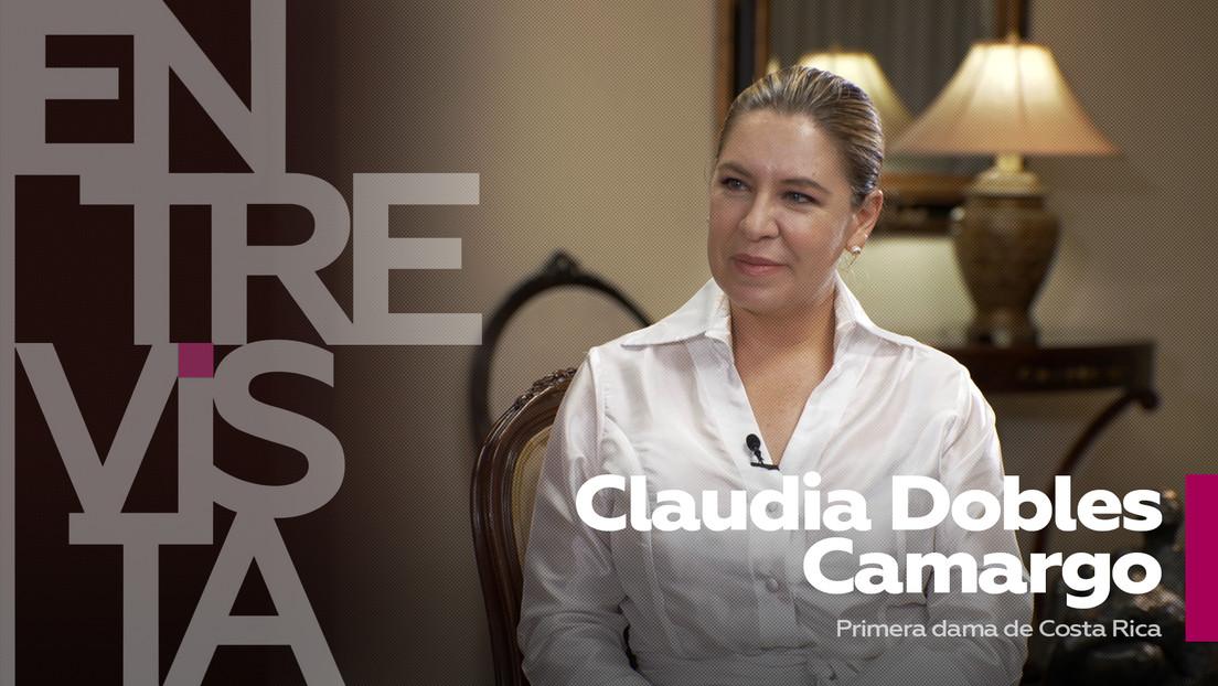 """Claudia Dobles Camargo, primera dama de Costa Rica: """"Tenemos una de las democracias más sólidas de la región"""""""