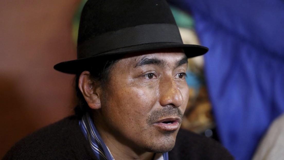 De líder del levantamiento popular de octubre de 2019 a presidente de la Confederación Indígena del Ecuador: ¿quién es Leonidas Iza?