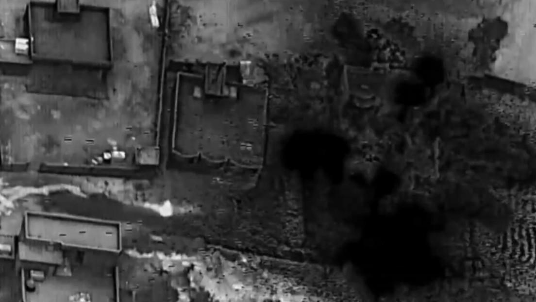 """EE.UU. publica imágenes de sus ataques aéreos contra """"milicias sirias respaldadas por Irán"""""""