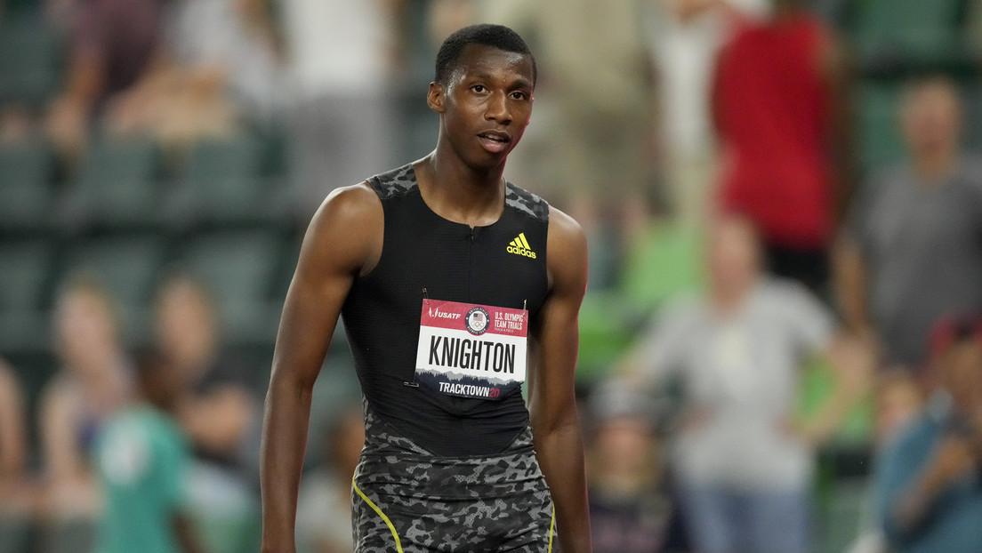 Erriyon Knighton: la sensación estadounidense de 17 años que pulverizó dos récords del legendario Usain Bolt en menos de un mes (VIDEO)