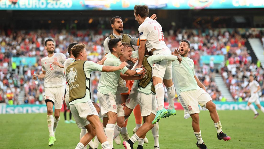 Con autogol en el primer tiempo y goles en la prórroga, España vence 3-5 a Croacia y pasa a los cuartos de final de la Eurocopa