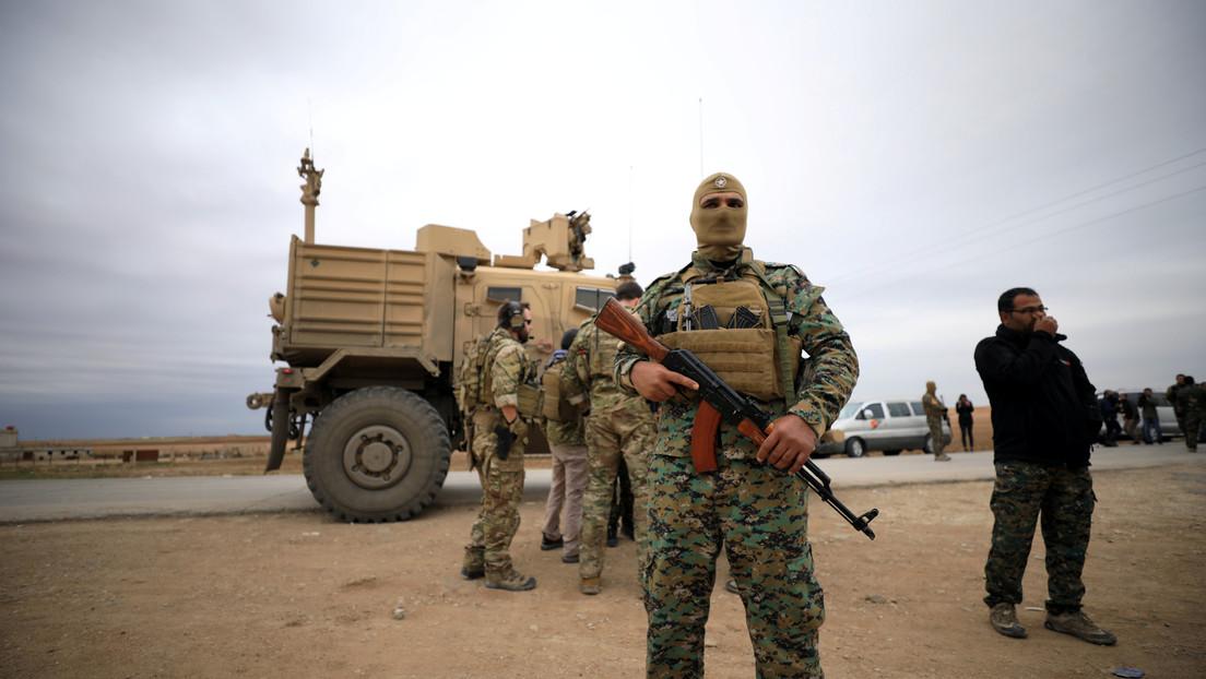 EE.UU. DENUNCIA ATAQUES CON MISILES CONTRA SUS TROPAS EN SIRIA Y RESPONDE CON ARTILLERIA