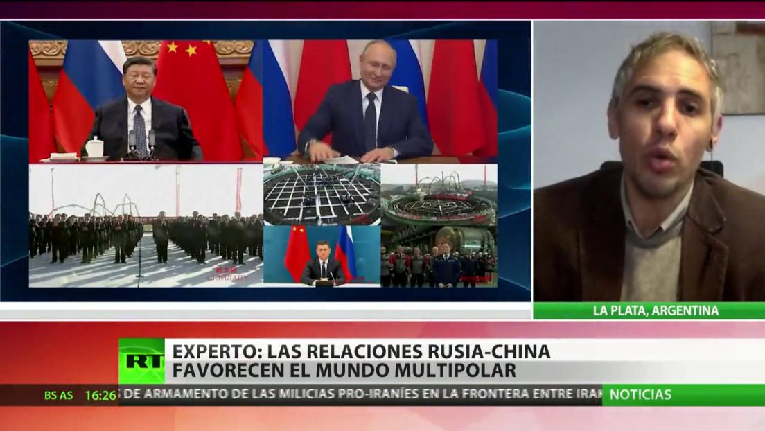 Experto afirma que las relaciones Rusia-China favorecen el mundo multipolar