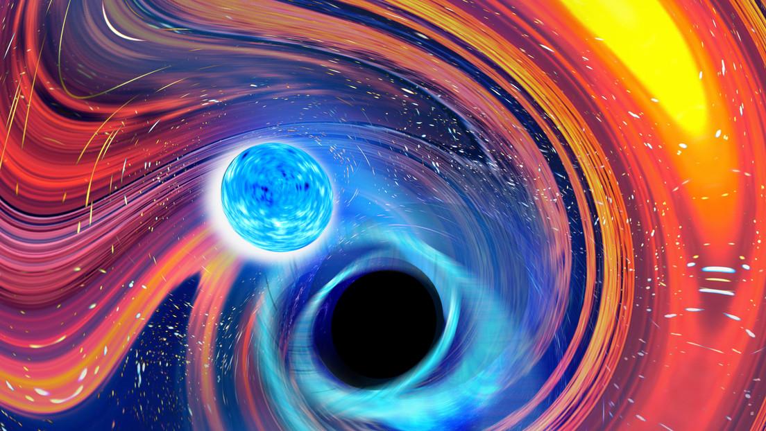 Científicos confirman por primera vez colisiones entre estrellas de neutrones y agujeros negros, que se tragan a sus compañeras como Pac-Man