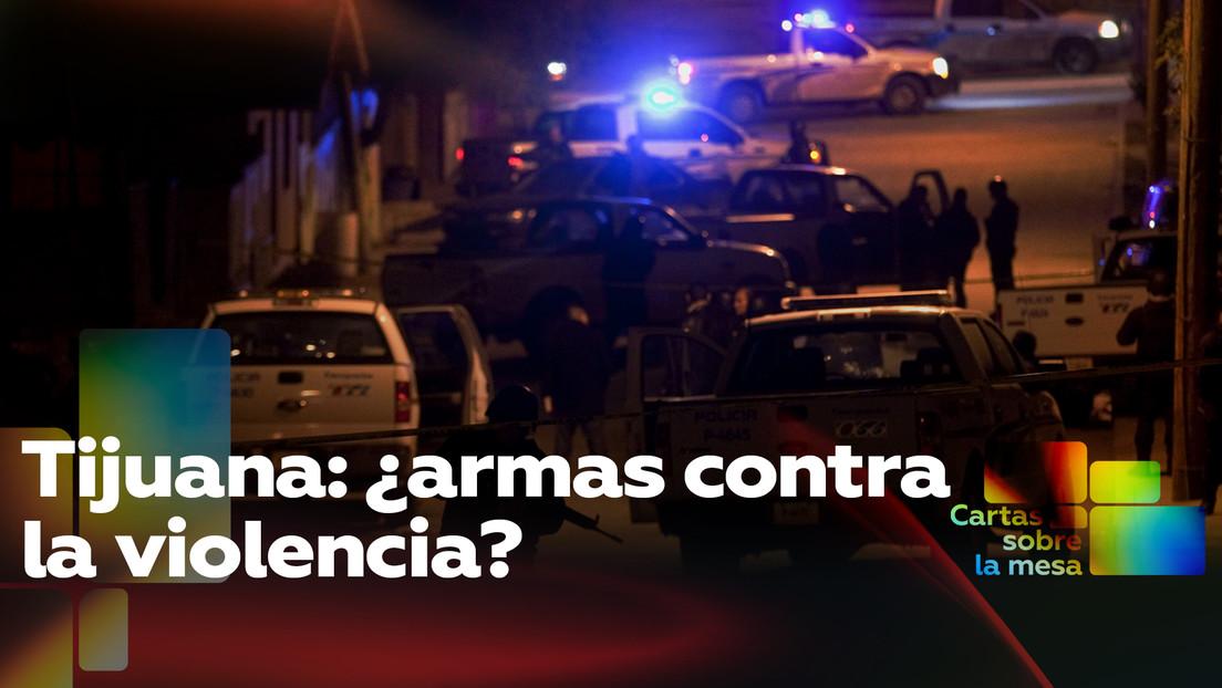 Tijuana: ¿armas contra la violencia?