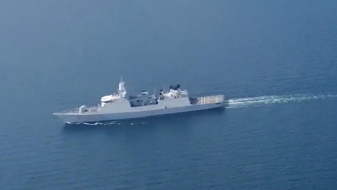 Rusia movilizó sus cazas luego que una fragata de Países Bajos navegara el 24 de junio en dirección al estrecho de Kerch y el barco cambió de rumbo