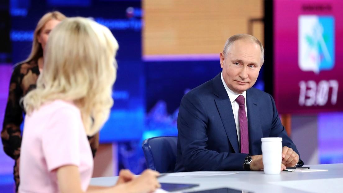 Putin cuenta que se vacunó con el fármaco ruso anticovid Sputnik V