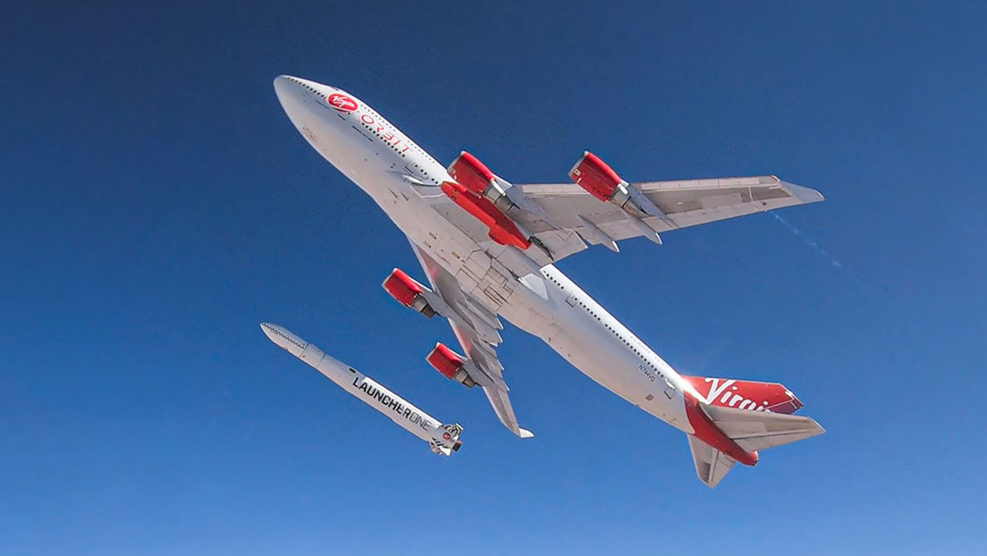 Virgin Orbit de Richard Branson lanza el primer cohete con satélites comerciales directamente desde un Boeing 747 (VIDEO)