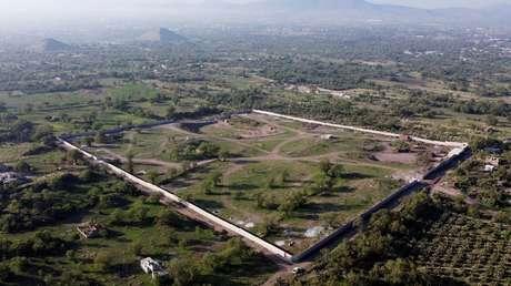 La Policía de México incauta los terrenos de la zona arqueológica de Teotihuacán en donde se construían obras ilegales que dañaron el patrimonio