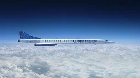 United Airlines encarga aviones supersónicos capaces de volar de Nueva York a Londres en solo 3,5 horas (VIDEO, FOTOS)