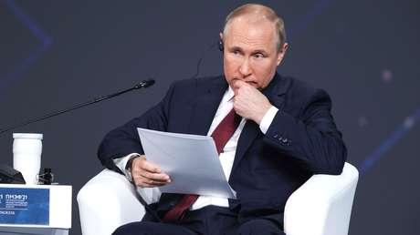 """Putin: """"No tenemos ningún desacuerdo con EE.UU., pero ellos tienen la intención de frenar nuestro desarrollo"""""""