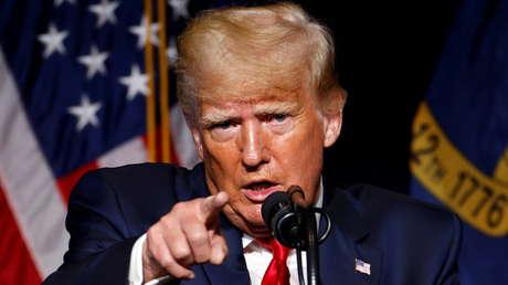 Trump insta al mundo a presentarle a China una factura de 10 billones de dólares por la pandemia y carga contra Biden y Fauci