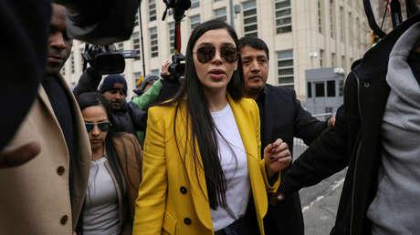 Emma Coronel, esposa del 'Chapo', se declara culpable de los cargos de narcotráfico en un tribunal de EEUU.