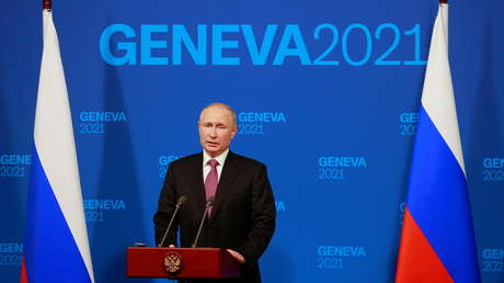 Relaciones entre Rusia y EE.UU., falta de hostilidad e ilusiones y otros temas: Putin resume los resultados de la cumbre con Biden