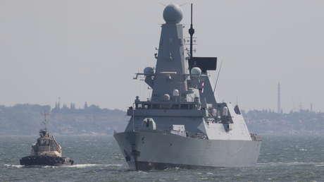 """""""Fue un acto deliberado"""": Periodista a bordo del buque británico que violó la frontera rusa cerca de Crimea confirma las advertencias de Rusia (AUDIO)"""