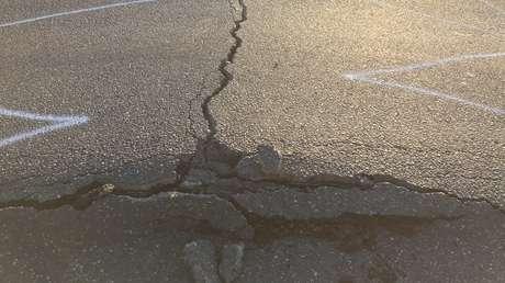 FOTOS: La ola de calor funde el revestimento de cables y deforma carreteras en el oeste de EE.UU. y Canadá