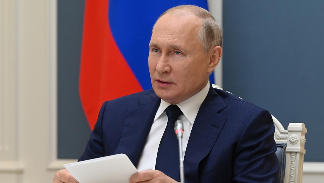 Putin firma una ley que prohíbe equiparar públicamente los objetivos de la URSS y de la Alemania nazi en la II Guerra Mundial