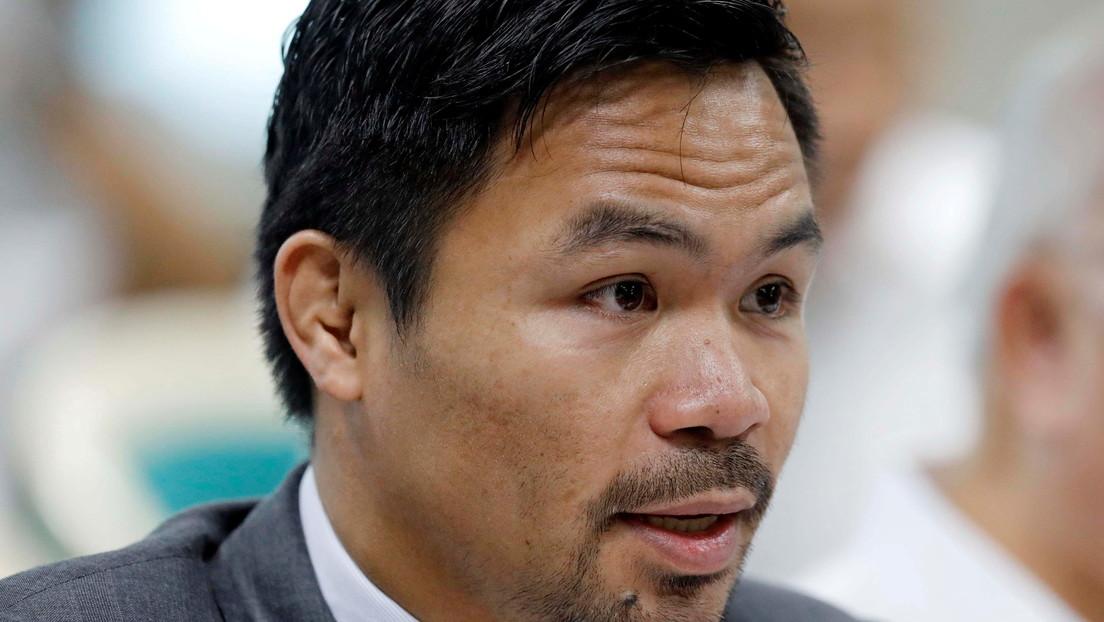 """""""Eres una mierda"""": el presidente de Filipinas vuelve a arremeter contra el famoso boxeador Manny Pacquiao por sus críticas sobre corrupción"""