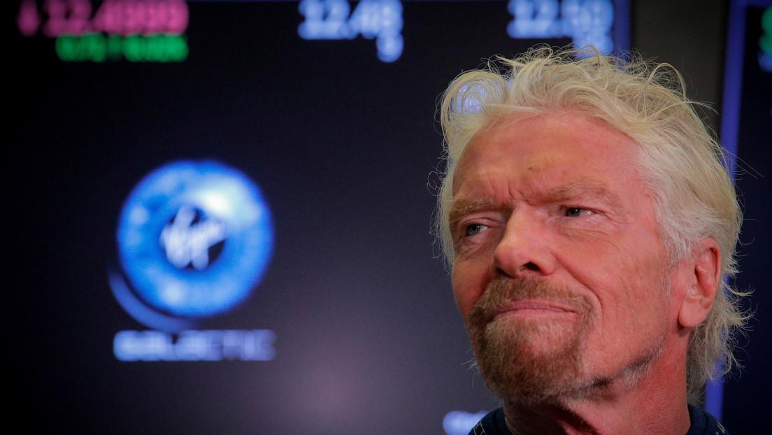 Richard Branson viajará al espacio nueve días antes que Jeff Bezos, adelantándolo en la 'carrera espacial' de multimillonarios