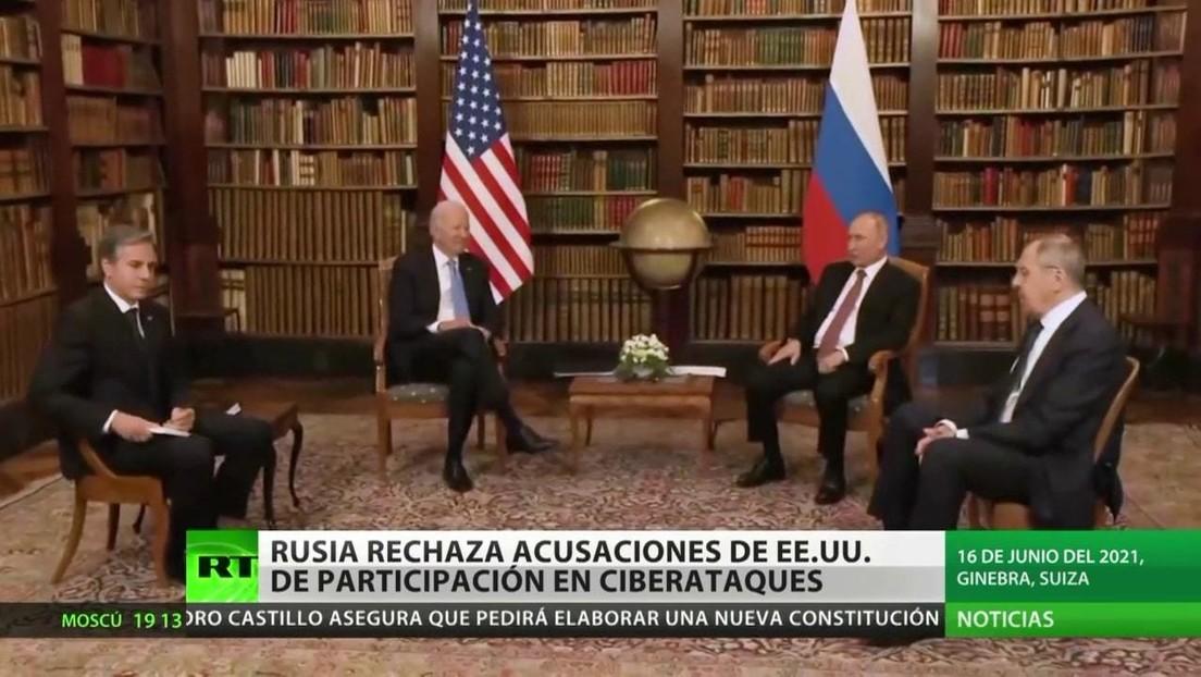 Rusia rechaza acusaciones de EE.UU. de estar detrás de ataques cibernéticos