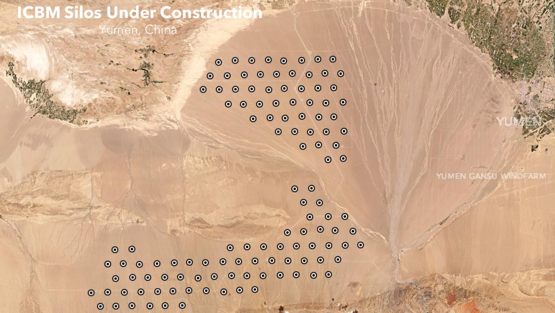 Imágenes satelitales muestran que China estaría construyendo más de 100 nuevos silos de misiles en el noroeste del país