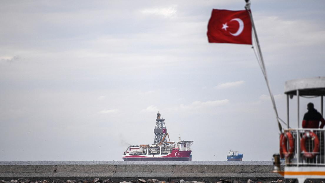 Turquía continuará las perforaciones exploratorias de gas en el Mediterráneo oriental