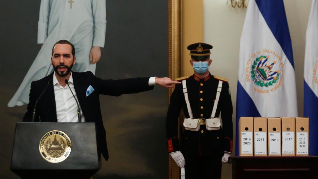 """""""Gracias por la lista, pero en El Salvador tenemos la nuestra"""": Bukele reacciona a la lista de EE.UU. de funcionarios """"corruptos"""" del Triángulo Norte"""