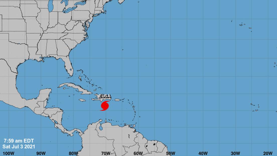 Elsa avanza hacia la costa de La Española y se espera que las condiciones se deterioren en la zona