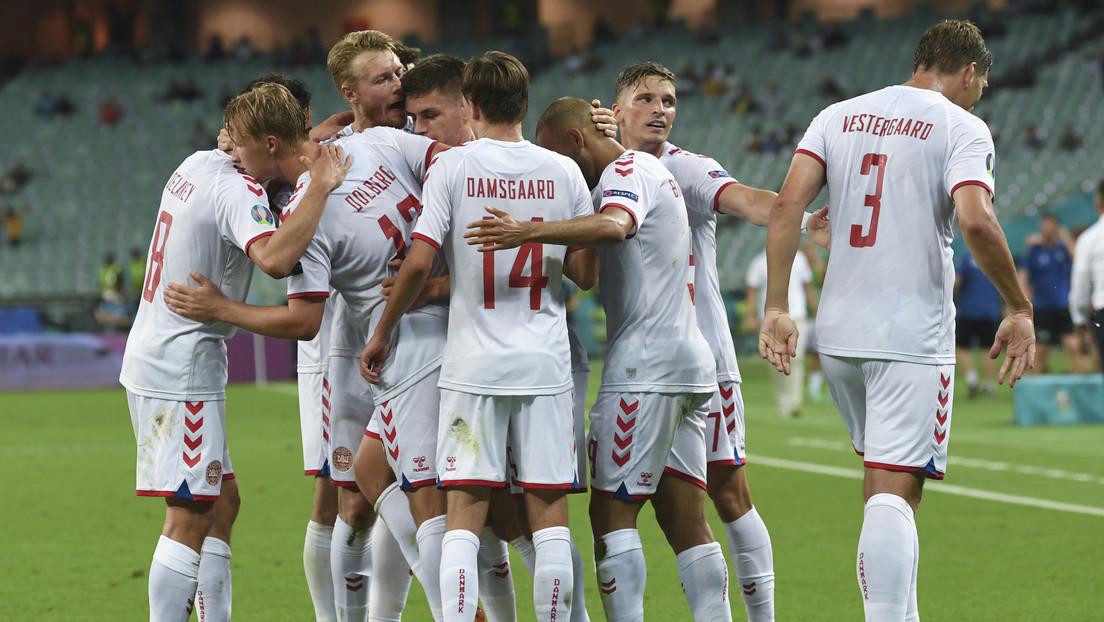 Dinamarca vence a República Checa y llega a semifinales de la Eurocopa