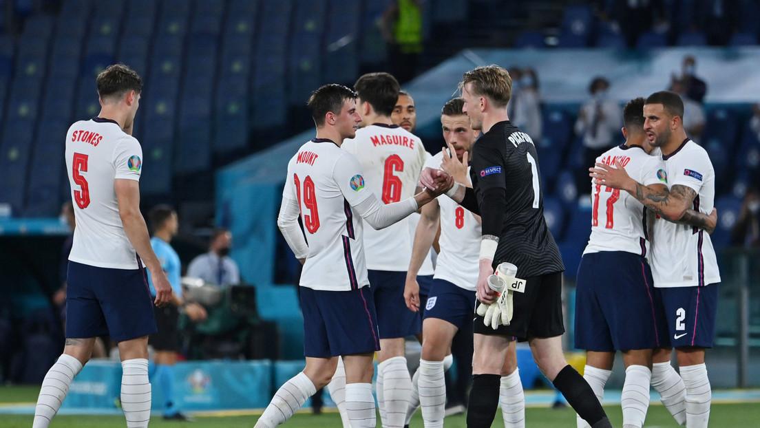 Inglaterra vence a Ucrania 4-0 y por primera vez en 25 años pasa a las semifinales de una Eurocopa