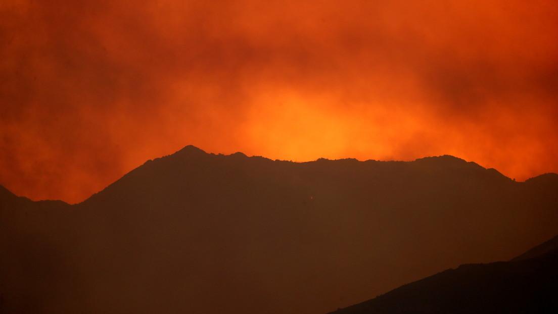 """Chipre experimenta """"uno de los incendios forestales más destructivos"""" en medio de una fuerte ola de calor (VIDEO)"""