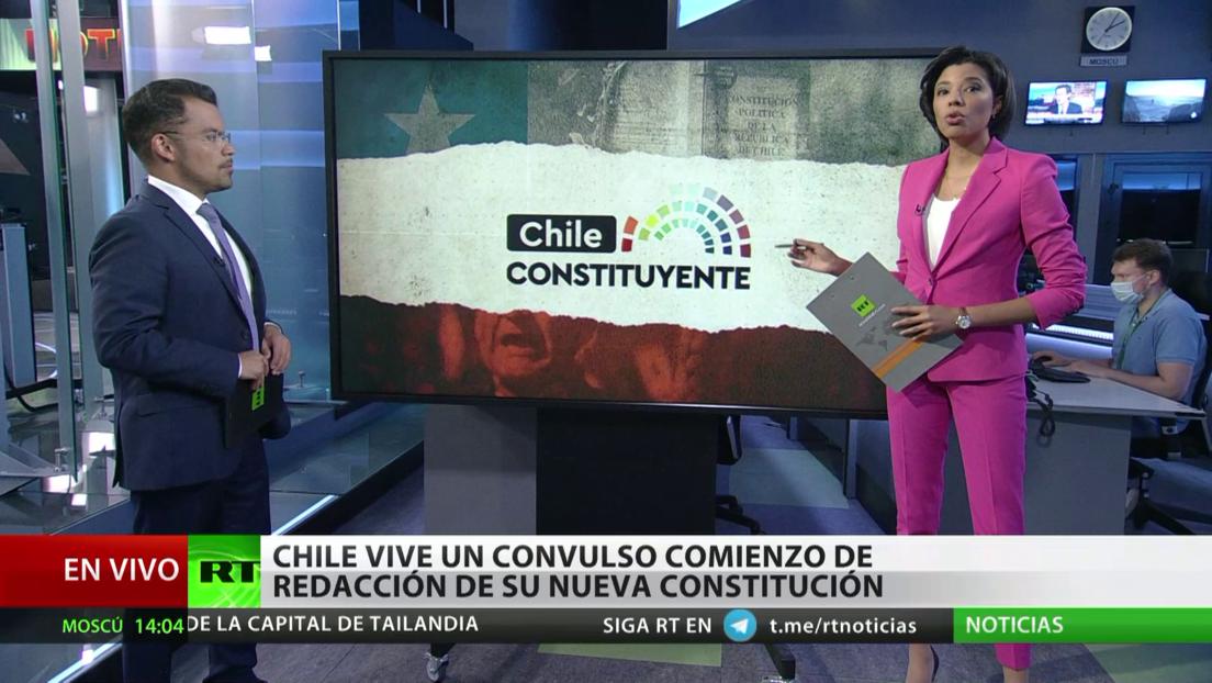 Chile vive un convulso comienzo de redacción de su nueva Constitución