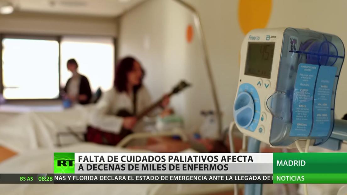 Falta de cuidado paliativo afecta a decenas de miles de enfermos en España
