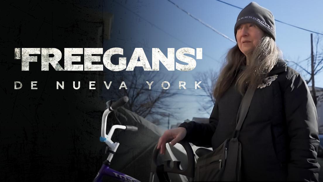 'Freegans' de Nueva York