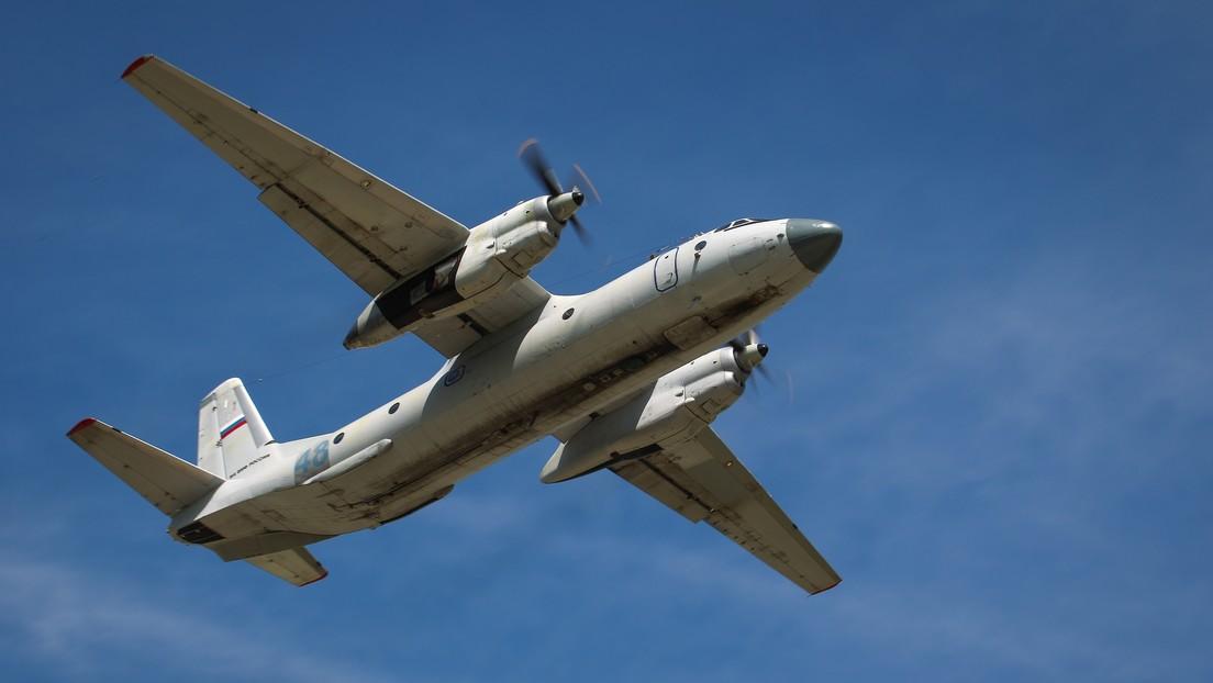 Confirman que un avión con 28 personas a bordo se estrelló en la península de Kamchatka