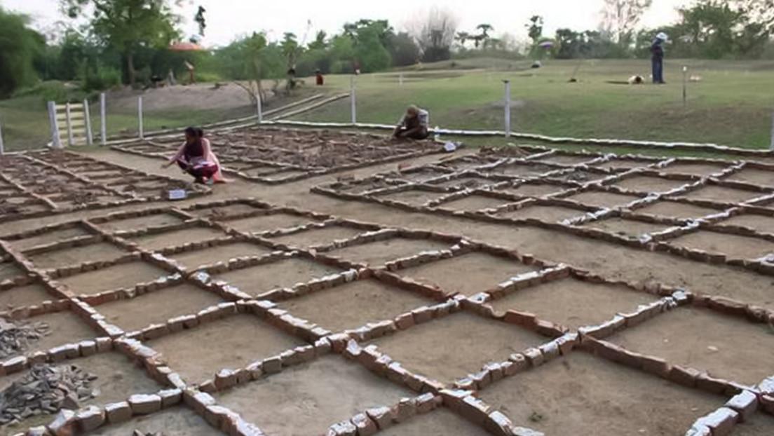Arqueólogos descubren en la India una misteriosa ciudad antigua que 'murió' hace 2.000 años