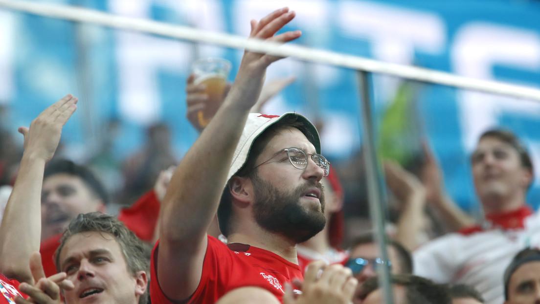 Del dolor al triunfo, en segundos: emociones sinceras convierten a un hincha suizo en el meme de la Eurocopa 'perseguido' por patrocinadores