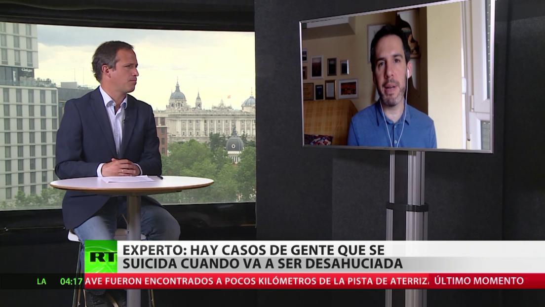 Experto: Hay casos de gente que se suicida cuando va a ser desahuciada en España